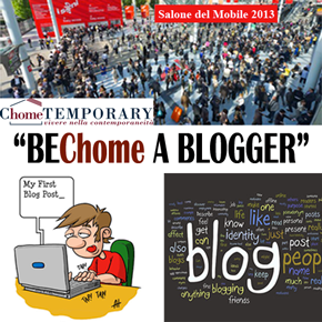 """ChomeTEMPORARY lancia il contest """"BEChome A BLOGGER"""""""