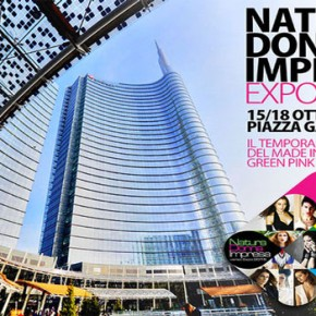 Temporary Shop Natura Donna Impresa verso Expo 2015